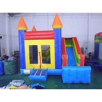 Дети слайд площадка надувные вечерние Джемперы замок Китай детский развлекательный парк