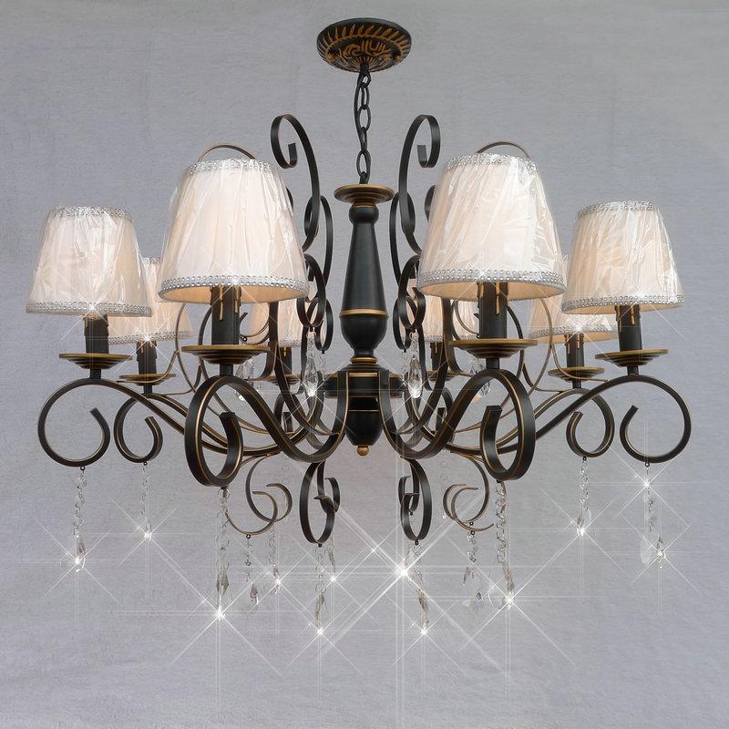 Multiple Chandelier Crystal hanging pendant lamp restaurant bedroom lamps and lanterns retro lighting ZX177 restaurant model room lamps  multiple