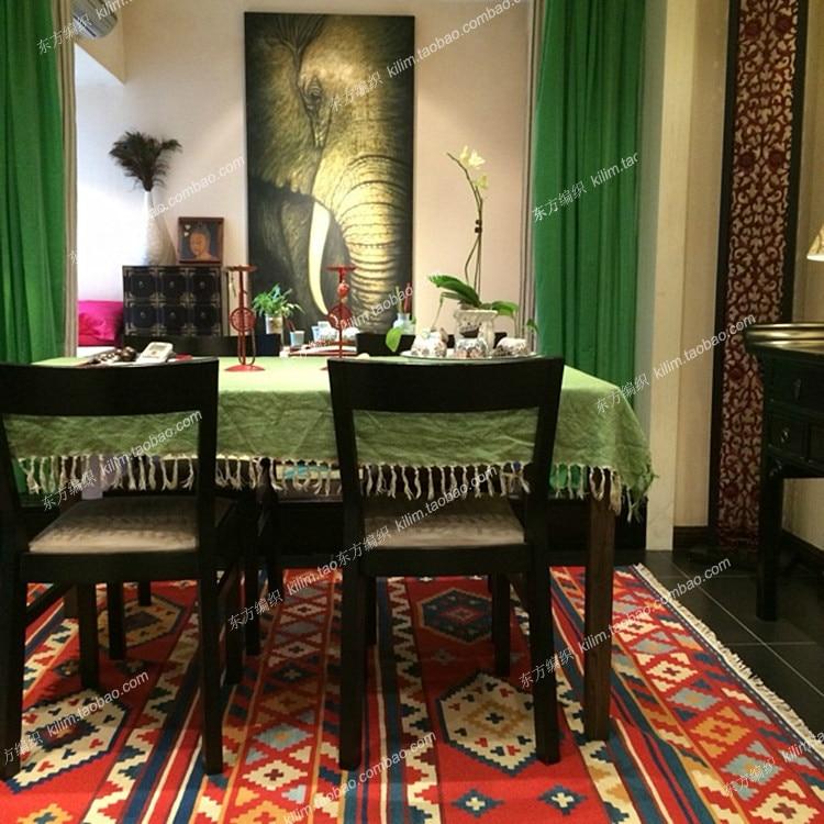 Style bohème méditerranéen/haut style national vent kilim kilim canapé tapis gc137kli04yg2