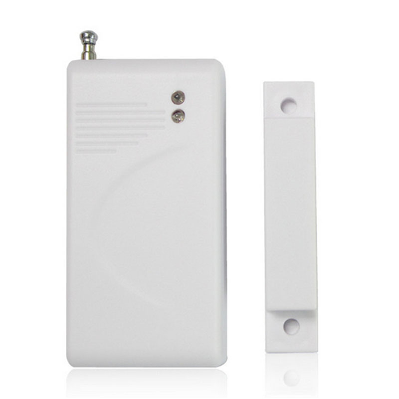 OWGYML 433 Mhz Wireless Home Security Door Window Magnet Sensor Detector Home Alarm System White High Quality