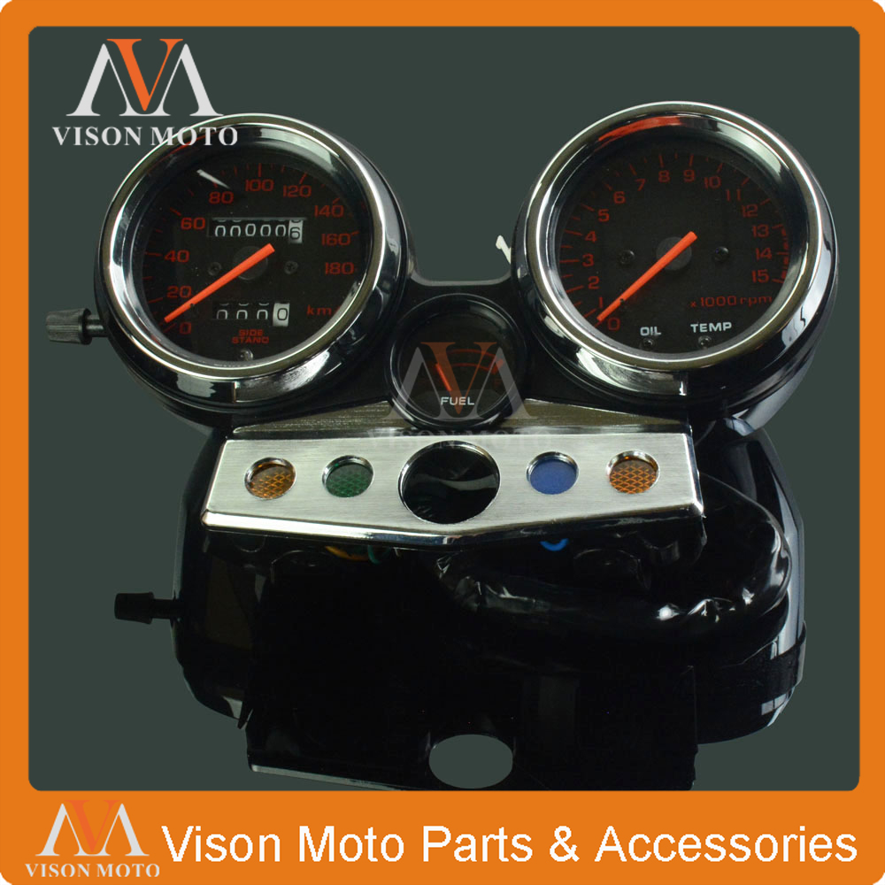 RED Motorcycle Tachometer  For HONDA CB400 CB 400 1995 1996 1997 1998  Speedometer Clock Instrument Gauges Odometer