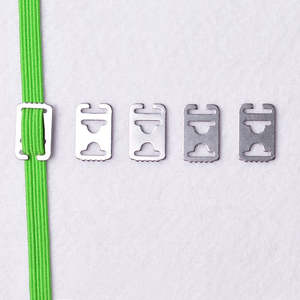 Tie Laces Anchors Lazy-Shoe Tieless Metal No-Need Convenient 4pcs/Set