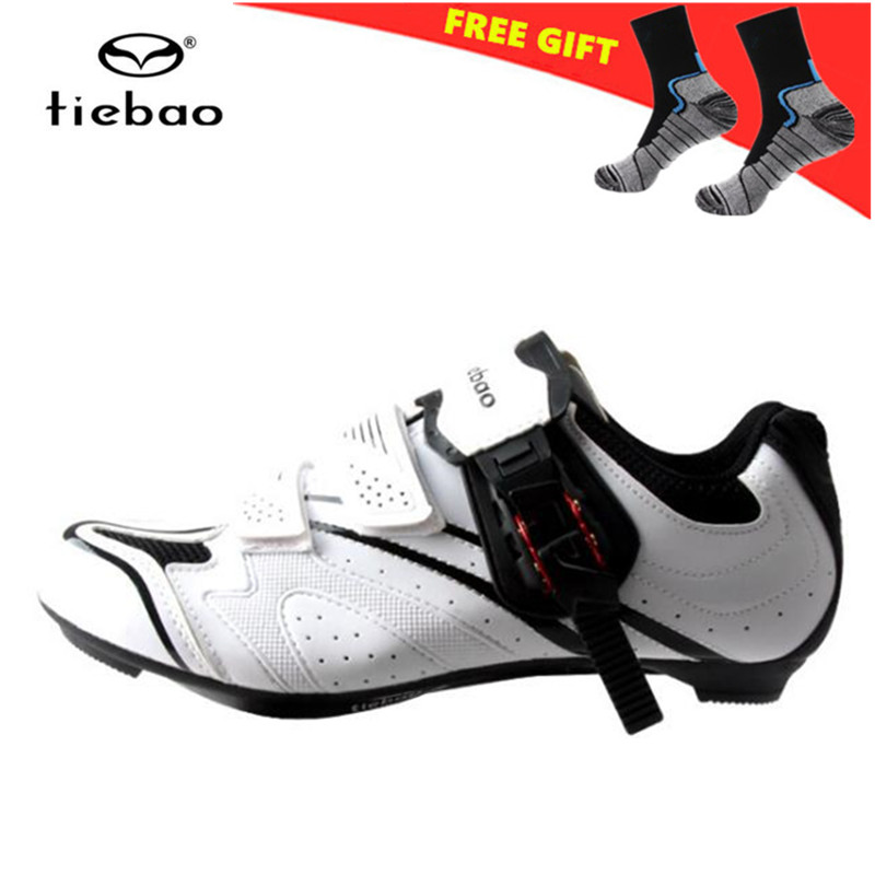 TIEBAO Road Bike Shoes 2018 Men Breathable zapatillas deportivas mujer Cycling Shoes Triathlon Athletic Shoes sneakers women 2017 wholesale hot breathable mesh man casual shoes flats drive casual shoes men shoes zapatillas deportivas hombre mujer