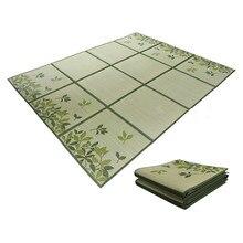 Японский Традиционный Ковер Igusa Tatami напольный коврик Раш татами коврик блок напольный лист легкий для гостиной спальни матрас