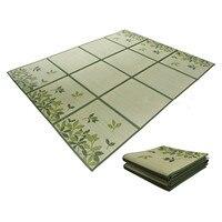ญี่ปุ่น Igusa Tatami พรมพรม Rush Tatami ชั้นแผ่นน้ำหนักเบาสำหรับห้องนั่งเล่นห้องนอนที่นอน|tatami carpet|carpet floor matjapanese floor mat -