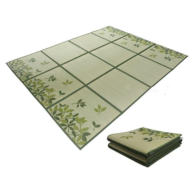 Japonais traditionnel Igusa Tatami tapis tapis de sol Rush Tatami tapis unité feuille de sol léger pour salon chambre matelas