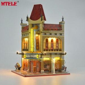 Image 3 - Брендовый светодиодный светильник MTELE, набор для уличного дворцового кинотеатра, светильник, совместимый с 10232 (модель не входит в комплект)
