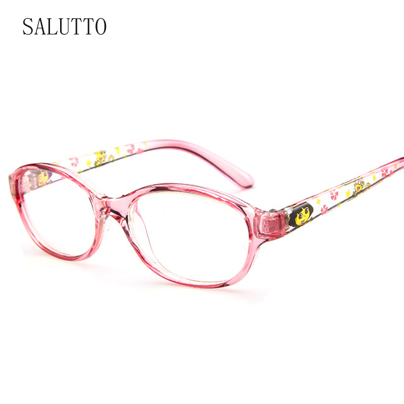 84605fab30 2019 New Children Glasses Frames Unisex Vintage Kids Clear Lens Optical  Spectacle Candy Color Cartoon Cute Eyeglasses Frames-in Eyewear Frames from  Apparel ...