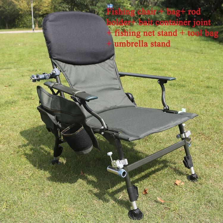 Fishing Chair Bear 170kg Portable Lying