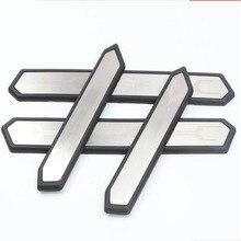 Stainless Steel Door Sill Scuff Plate Trim Car Accessories For Toyota RAV4 2019 interior accessories