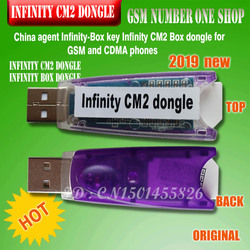 2019 original new China agent Infinity-Box Dongle Infinity CM2 Box Dongle for GSM and CDMA phones Free shipping