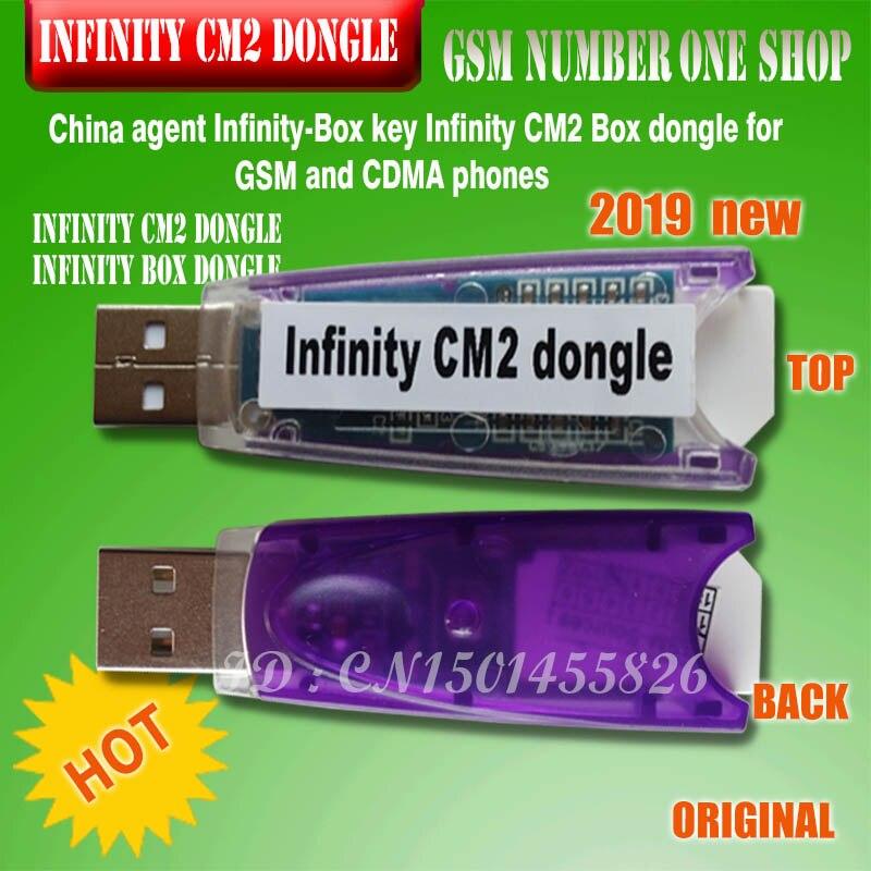 Original nuevo agente de China infinito-Box Dongle infinito CM2 caja Dongle para GSM y CDMA teléfono envío gratis