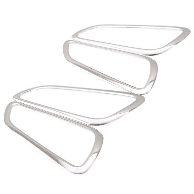 Für Ford Focus 3 2012 2013 Edelstahl Innentüren Hand Umklammerte Dekoration  Ring 4 Teile/satz