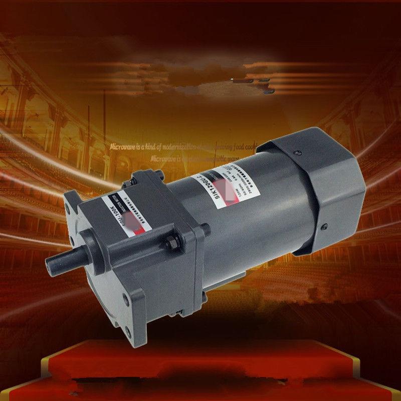 цена на Single Phase 220V AC Vertical Micro Gear Motor 120W 5IK120GU Constant Speed