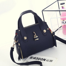 Female bag han edition to finalize the design new embroider line fashion female worn one shoulder