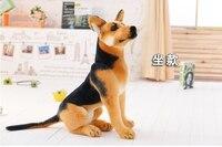 محشوة لعبة حوالي 40 سنتيمتر wolfhound الراعي الكلب أفخم لعبة دمية هدية عيد b0764