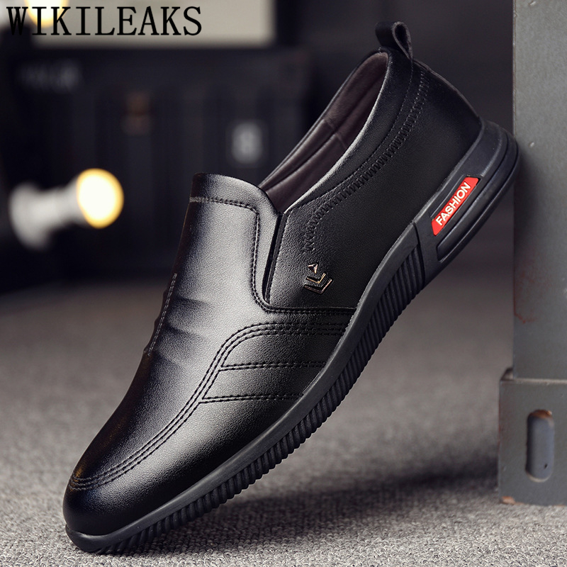Elevator Shoes For Men Sneakers Luxury Brand Winter Boots Leather Shoes Men Loafers Coiffeur Mens Casual Shoes Hot Sale Ayakkabi