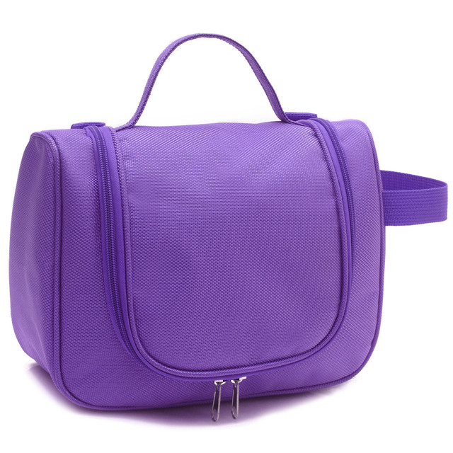 Multifunction Cosmetic Bag Polyester Women Cosmetic Cases Make Up Bag Toiletry Bags Travel Bags
