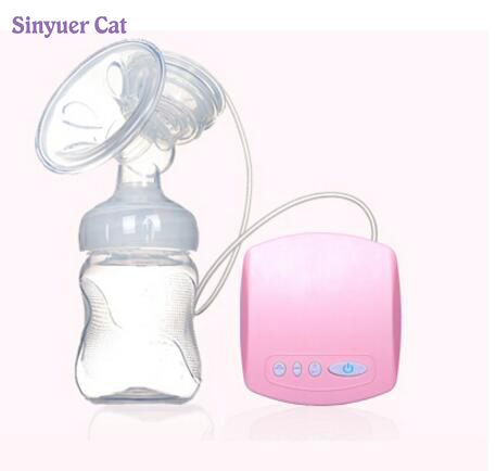 2017 New arrival Electric USB breast pump Postpartum Breast feeding breast pumps Breast milk suckers Free