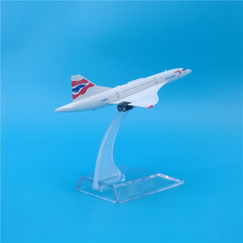 Custom British Airways Concorde Jet Airplane Christmas Ornament 1//400th Aircraft