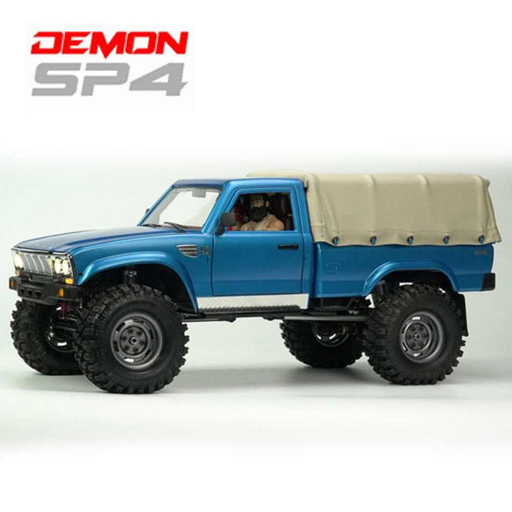 Cross RC CZRSP4C SP-4C 1/10 Demon 4x4 Crawler Kit Volledige Hard Lichaam 1/10 Schaal RC Radio Controller Auto VS TRAAXAS JKMAX TF2