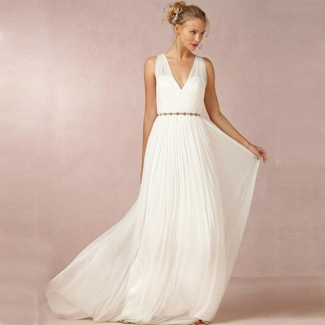 Vestidos de novia estilo griego 2016