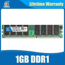 DDR1 2GB 2X1GB DDR 1 gb pc3200 ddr400 400MHz 184Pin Desktop ddr memory CL3 DIMM RAM 2G Lifetime Warranty