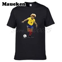 Men The Child Carlos Valderrama 10 'El Pibe' Colombia Legend Captain T-shirt Clothes T Shirt Men's o-neck tee W17072603