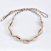 2pcs/Bohemian jewelry fashion hand-woven shell womens beach anklet 2019 new