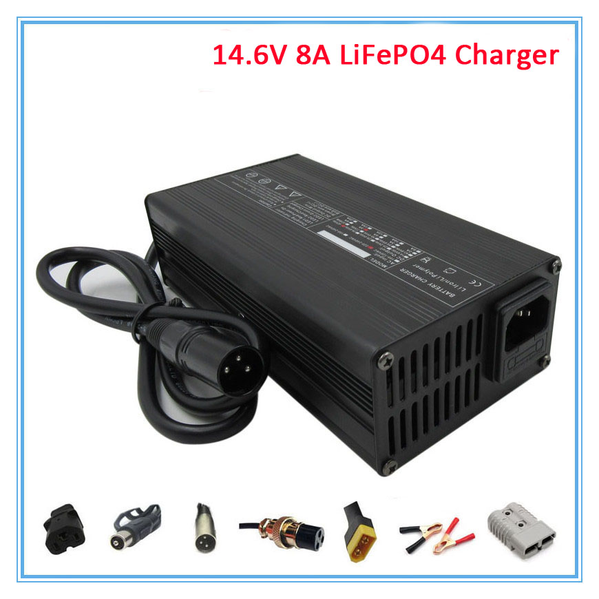 Objective Wholesale 5pcs/lot 180w 12v 8a Lifepo4 Battery Charger 14.6v 8a Lfp Charger Use For 4s 12v 30a 40a 50a 100a Battery Pack Accessories & Parts