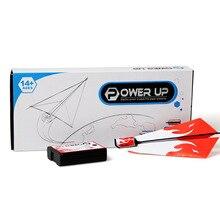 Классическая Детская игрушка оригами Электрический мотор power up fold Fly бумажный комплект самолетиков студенческий эксперимент Сделай Сам самолет модель детский подарок
