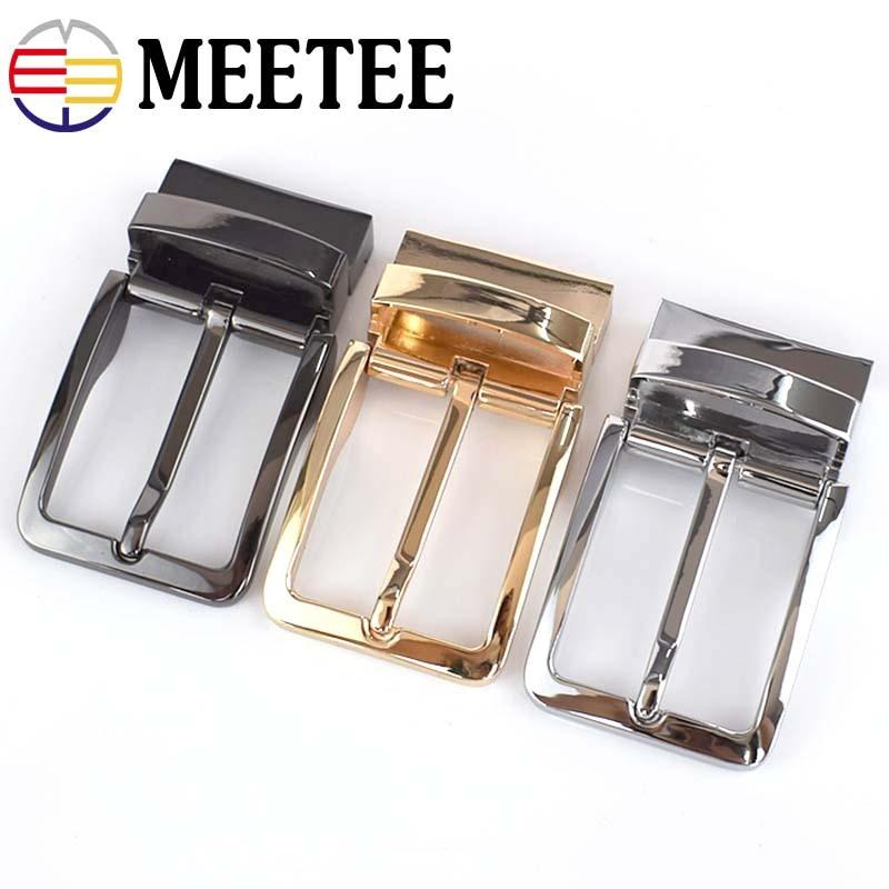 1PC Fashion Men Belt Buckles Zinc Alloy Metal Pin Buckle For Belt 33 34mm Belt Head DIY Leather Craft Hardware Accessories in Buckles Hooks from Home Garden