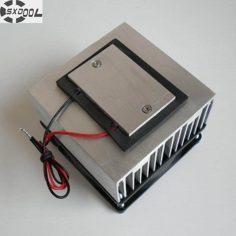 SXDOOL Cooling!DIY NEW Cooling System Refrigeration System DIY kit Set Peltier Cooler Cooling system 5 pcs qdzh35g r134a 12v cooling compressor for marine refrigeration unit