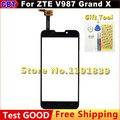 Оригинал ZTE V987 Сенсорный Экран Digitizer Стекло Для ZTE V987 ZTE Grand X V987 Quad Сенсорный Экран + Бесплатная Доставка