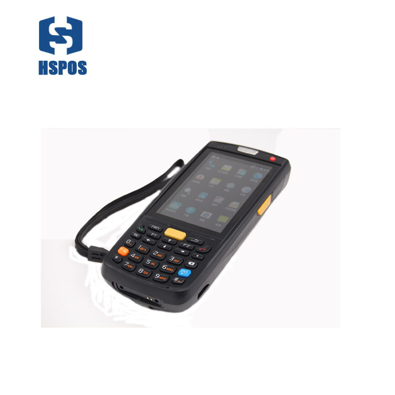 Wifi Bluetooth Portable 4G Android PDA QR 1D Mobile Data Collector POS Terminal With NFC Charger Cradle