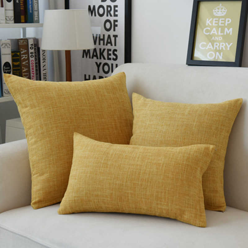 Nowy nowoczesny 18x18 cal 45*45 cm na zewnątrz 55*55 cm stałe czysty kolor pościel poduszka bawełniana home Decor Sofa samochód krzesło biurowe rzuć poszewka na poduszkę
