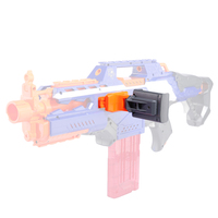 rowsfire-modified-part-tactical-phone-holder-for-nerf-elite-series-orange-grey