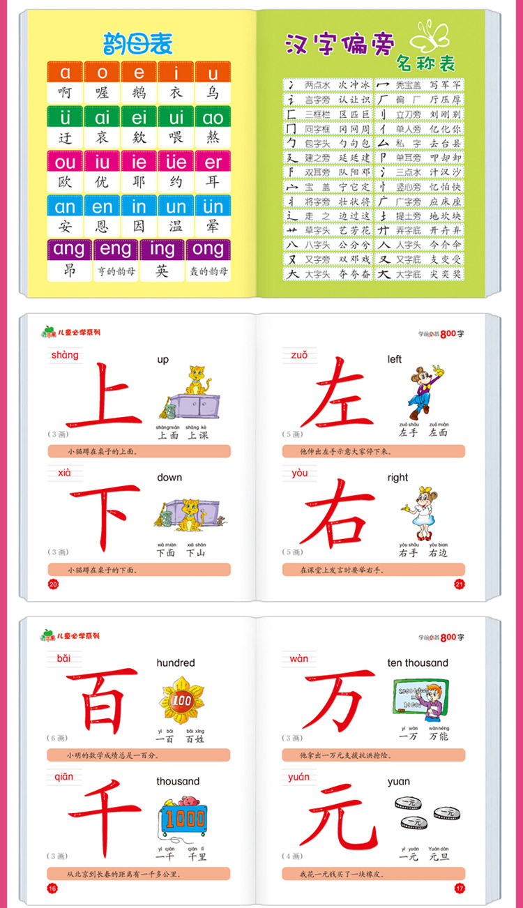 չինական մանկական գիրք պինինով - Գրքեր - Լուսանկար 3