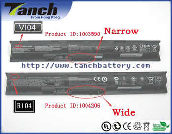 VI04 756478-421 756743-001 HSTNN-DB6I batterie dordinateur portable pour HP Pavilion 15 PAVILLON 17 Envy 17 Envy 15 14.8 V ou 15 V 2800 mAh