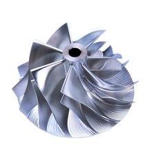Turbo Billet Compressor Wheel SU*ARU IHI RHF55 RHF5HB VF30 VF34 VF36 7+7 Blade # 405-99015-523