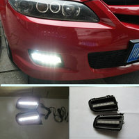 Car flashing For Mazda 6 2006 2007 2008 2009 DRL Driving Daytime Running Light fog lamp Relay DRL Daylight cover