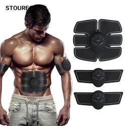 Instrutor do músculo abdominal, estimulador eletrônico sem fio do corpo do músculo da aptidão, braço da perna da barriga exercício corpo emagrecimento shaper máquina