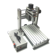 Купить с кэшбэком YOOCNC 400W wood router 3020 Pcb drilling machine with cutter collet clamp drilling kits