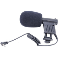 Mini Microphone Interview Broadcast Directional Condenser For DSLR Cameras Camcorder Recording GDeals
