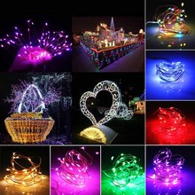 AUSIDA USB LED String Lights 10M 5V 100 LEDs with remote christmas marriage decorations luces decorativas iluminacion garland