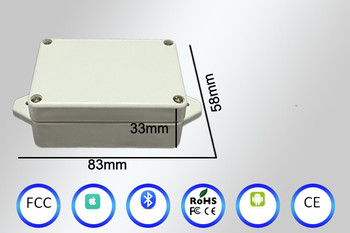 High Performce Bluetooth iBeacon Waterproof iBeacon with acceleration sensor