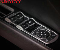 BJMYCYY 4PCS SET ABS Decorative Box Car Window Lift Switch Button For New Ford Mondeo 2013