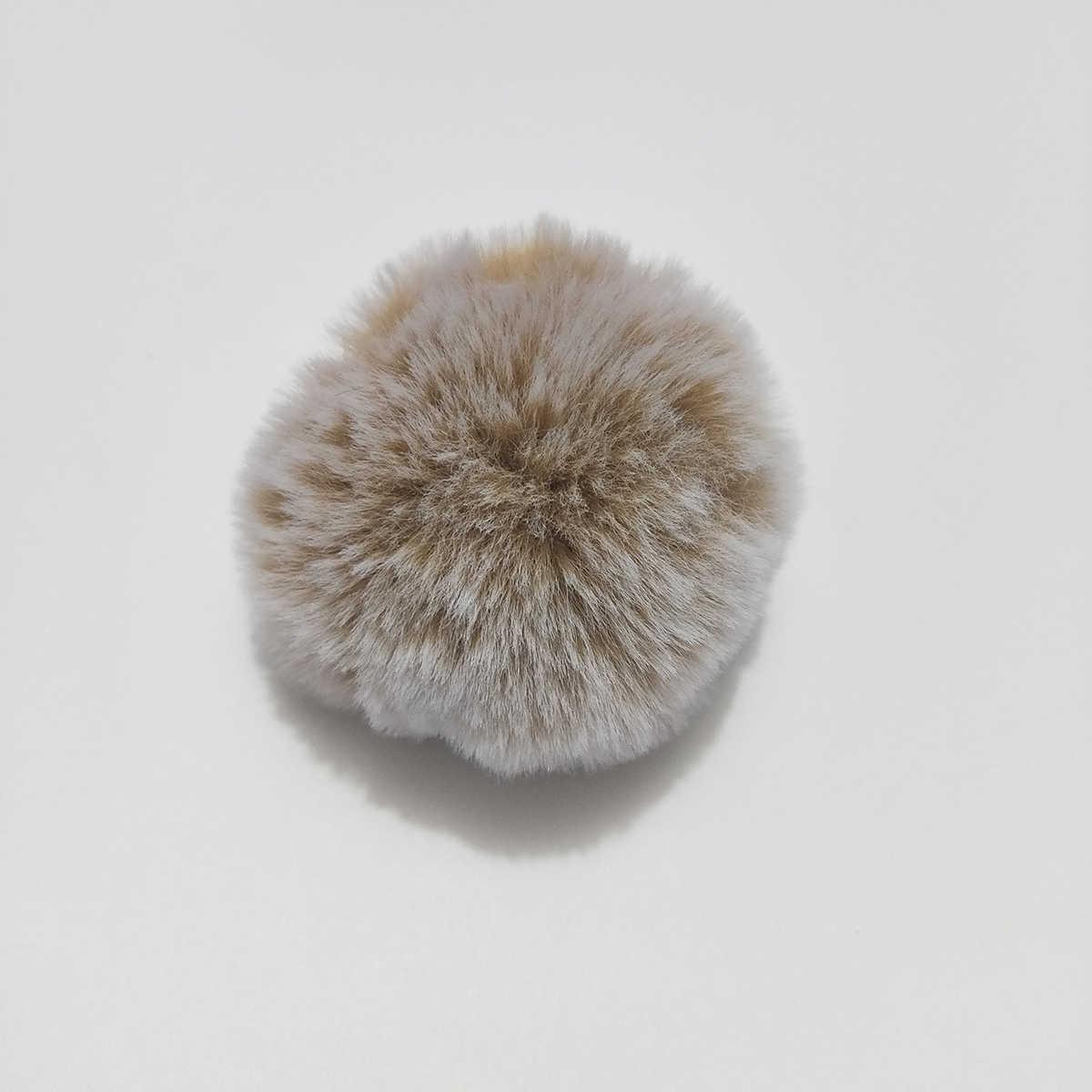 2018 Simples Chaveiro Bola De Pêlo Pompom Pompom Chaveiro Artificial Pele De coelho Saco Carro Chaveiro Chaveiros de Animais para a Mulher 27 cores