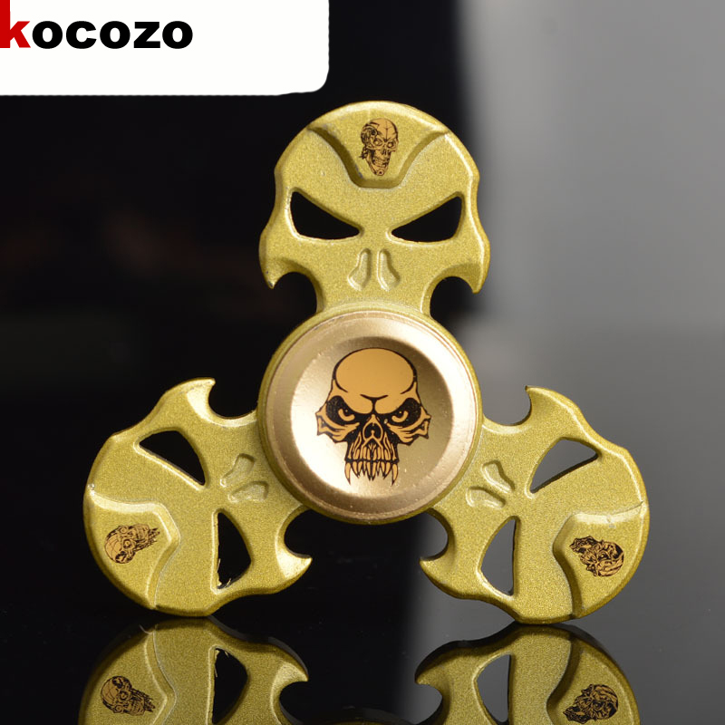 New Cool Tri-Spinner Fidget Toy Metal EDC Hand Spinner For Autism and ADHD Rotation Time Long Anti Stress Toys For Children creative ceramic tri spinner fidget toy edc hand spinner for autism and adhd stress relieve toy rotation time beyond 6 minutes