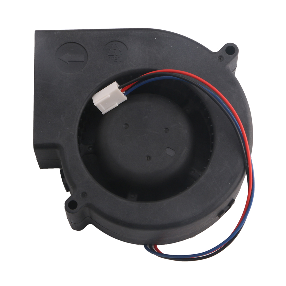 DC 12V Brushless Turbine Cooling Blower Fan Cooler 3-Pin 4500RPM 97x94x33mm PBT цена